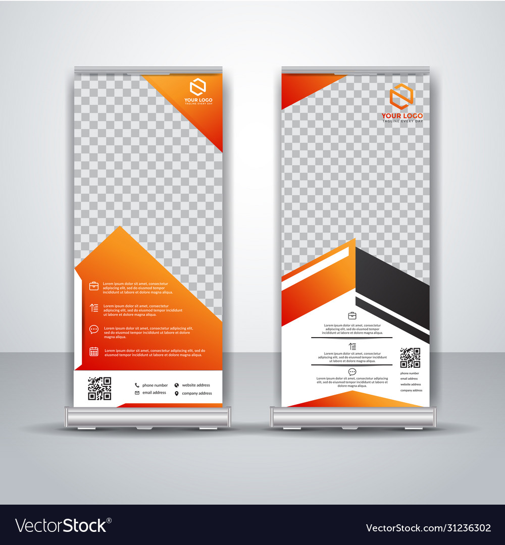 Business roll up banner design