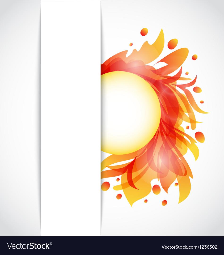 Colorful floral transparent background