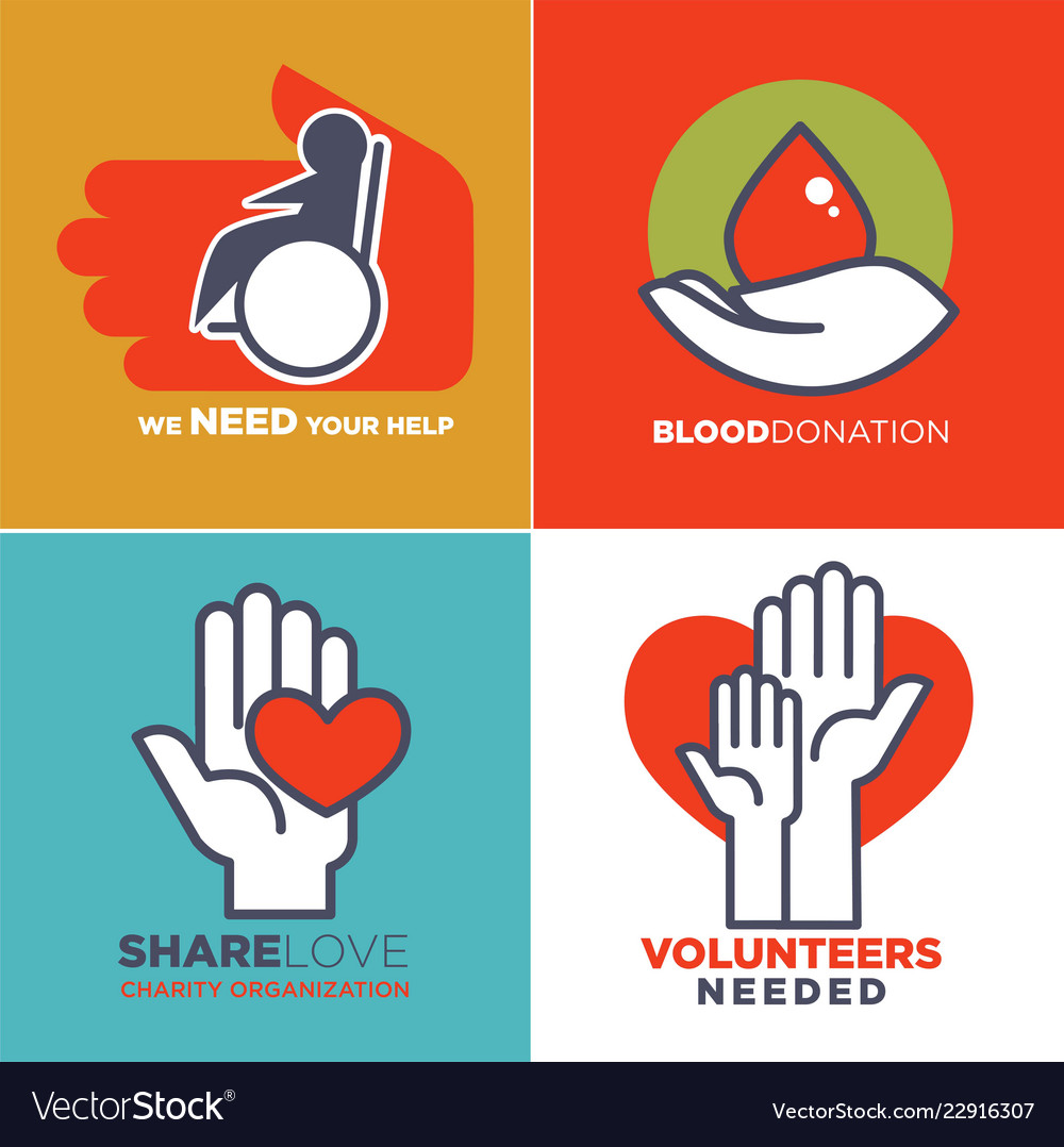 Charity blood or donation or medical and