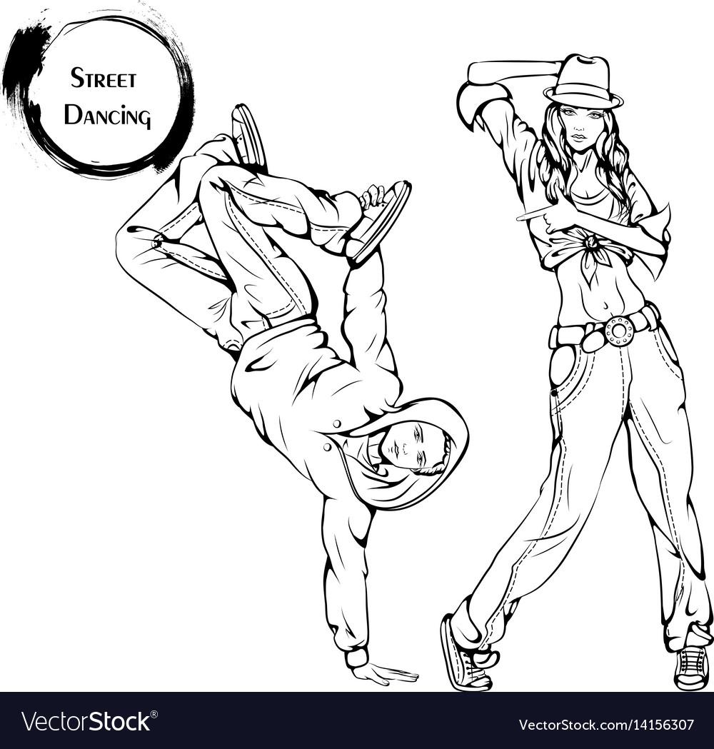 Dance line street dance