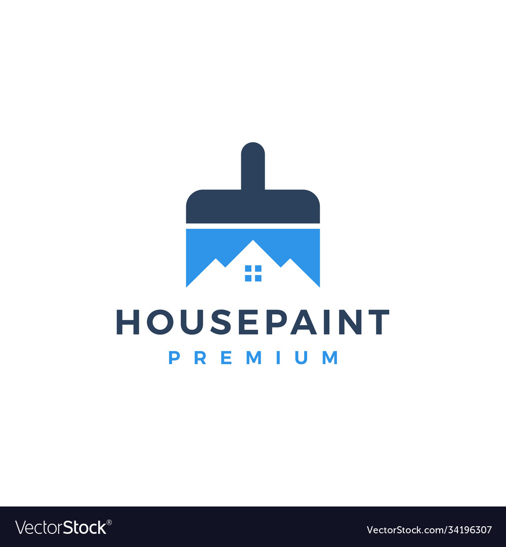 House paint logo icon