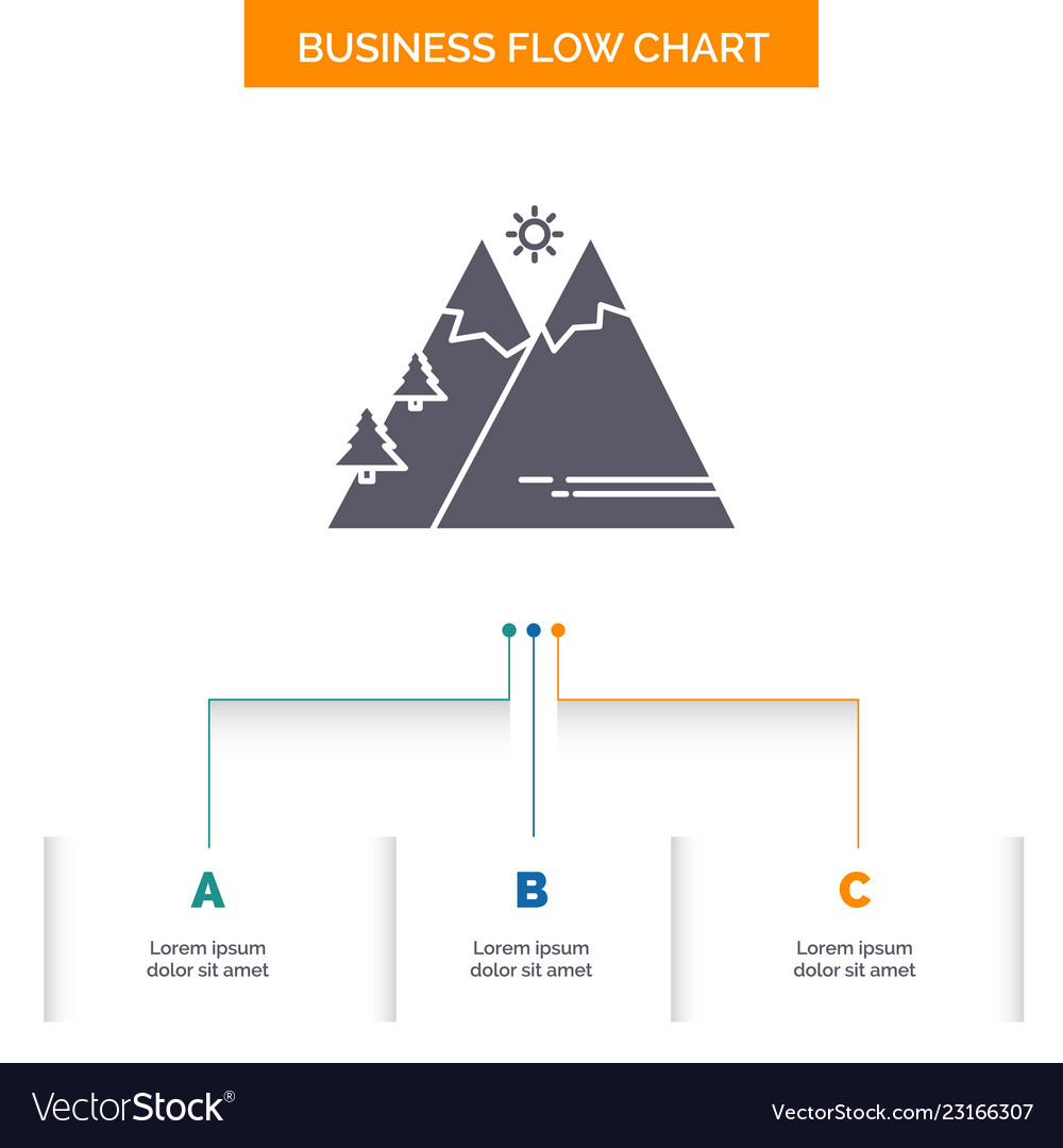 mountains nature outdoor sun hiking business flow vector 23166307 sun diagram used in business great installation of wiring diagram \u2022