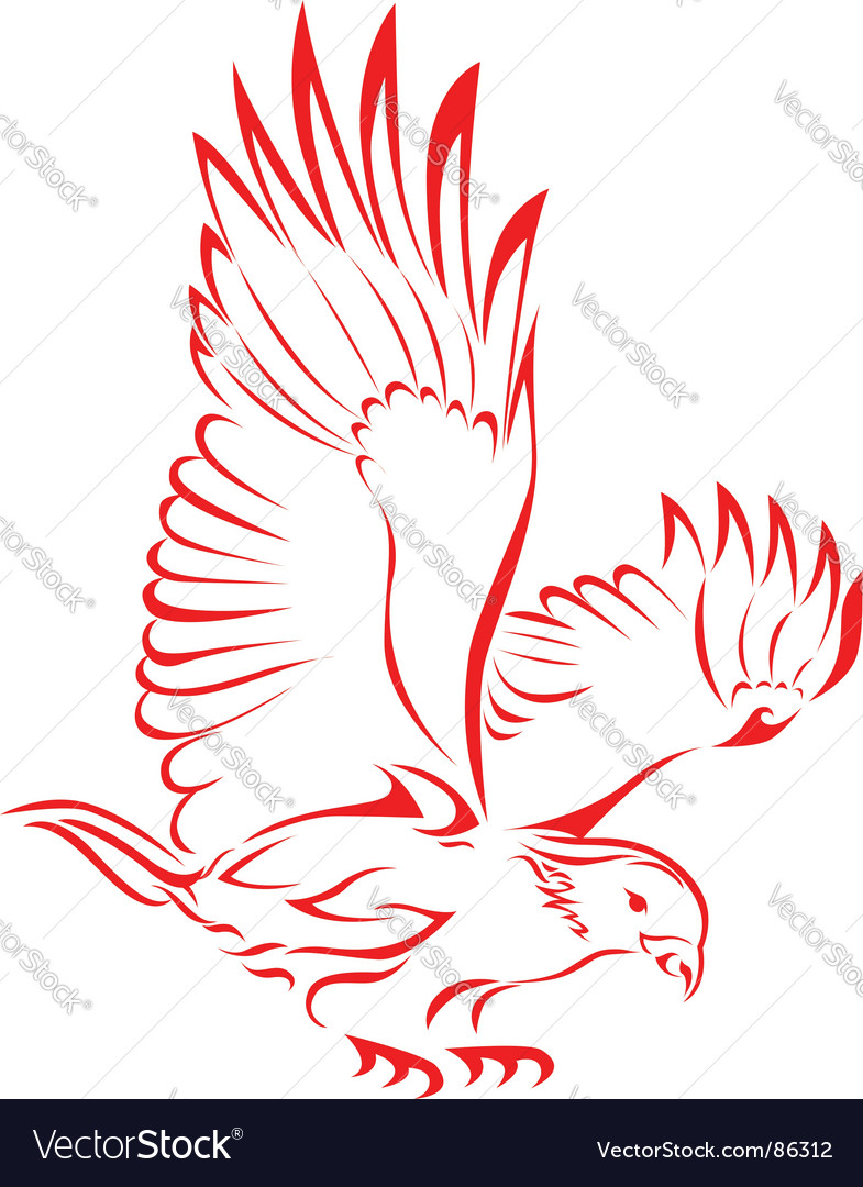 Eagle Tattoo Vector. Artist: Seamartini; File type: Vector EPS