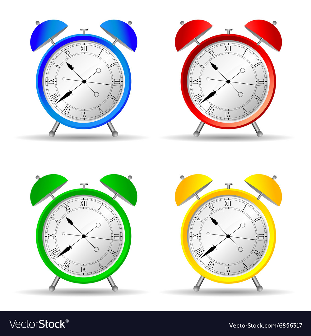 Clock set color
