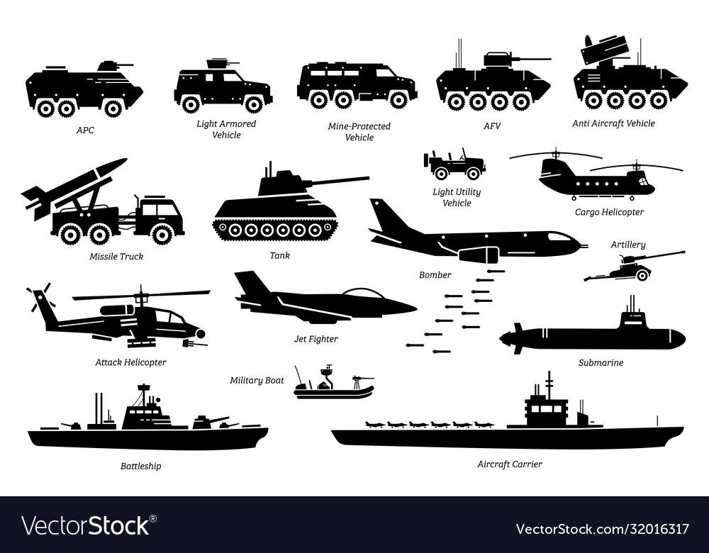 Military combat vehicles transportation and