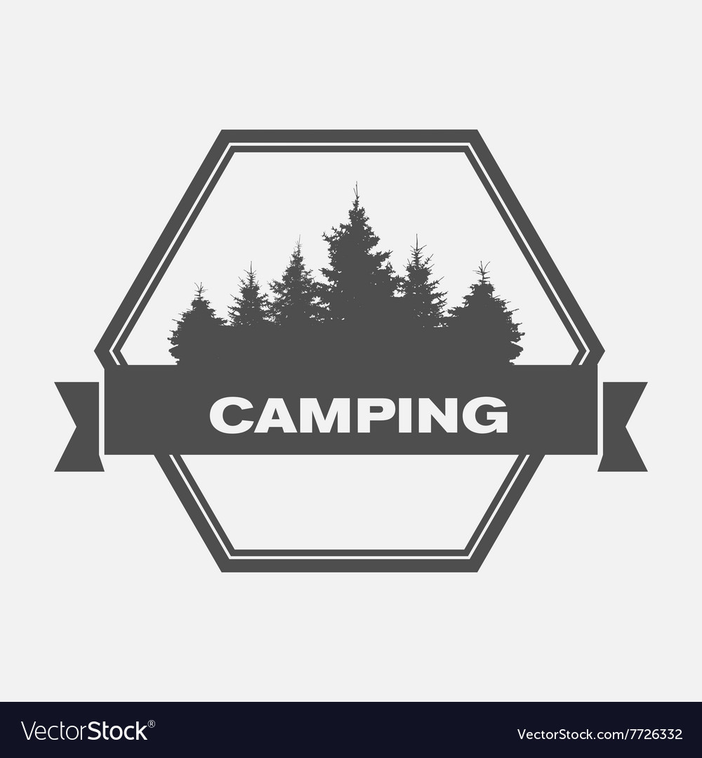 Summer Camp Image of Nature Tree Silhouette
