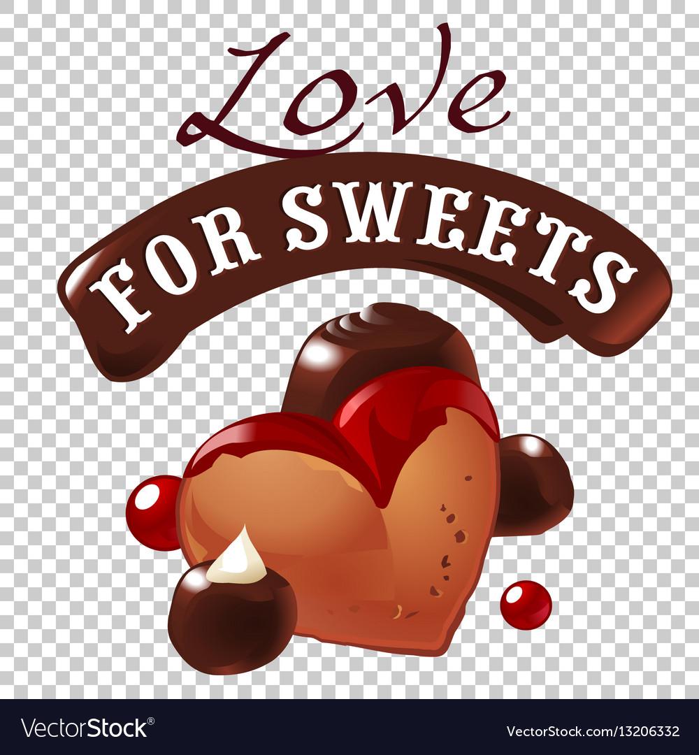 Sweet dessert of biscuit
