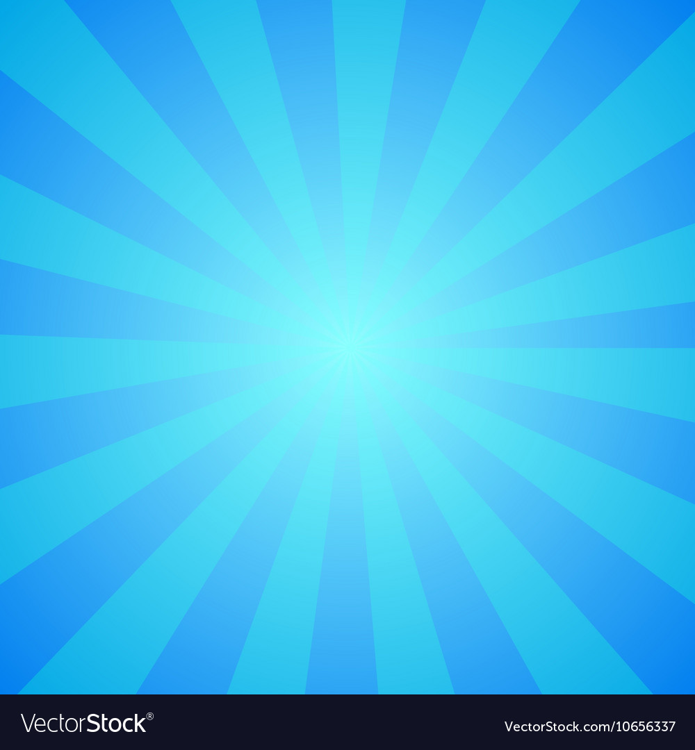 Blue circus background vector image