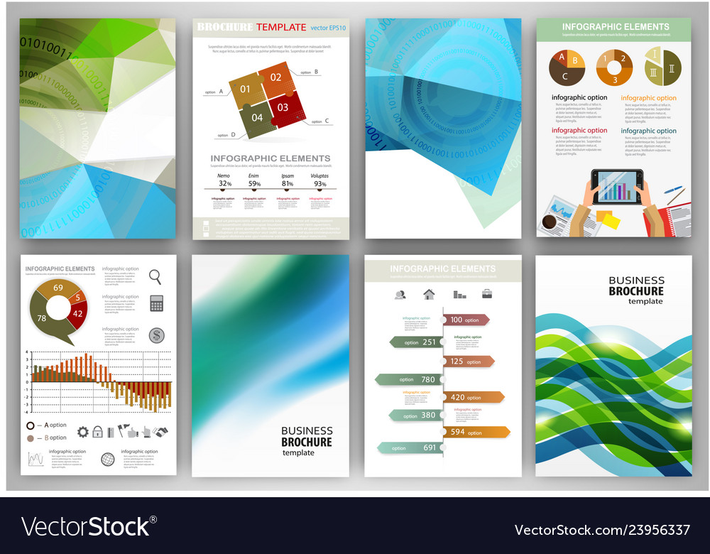 Green and blue backgrounds and abstract concept