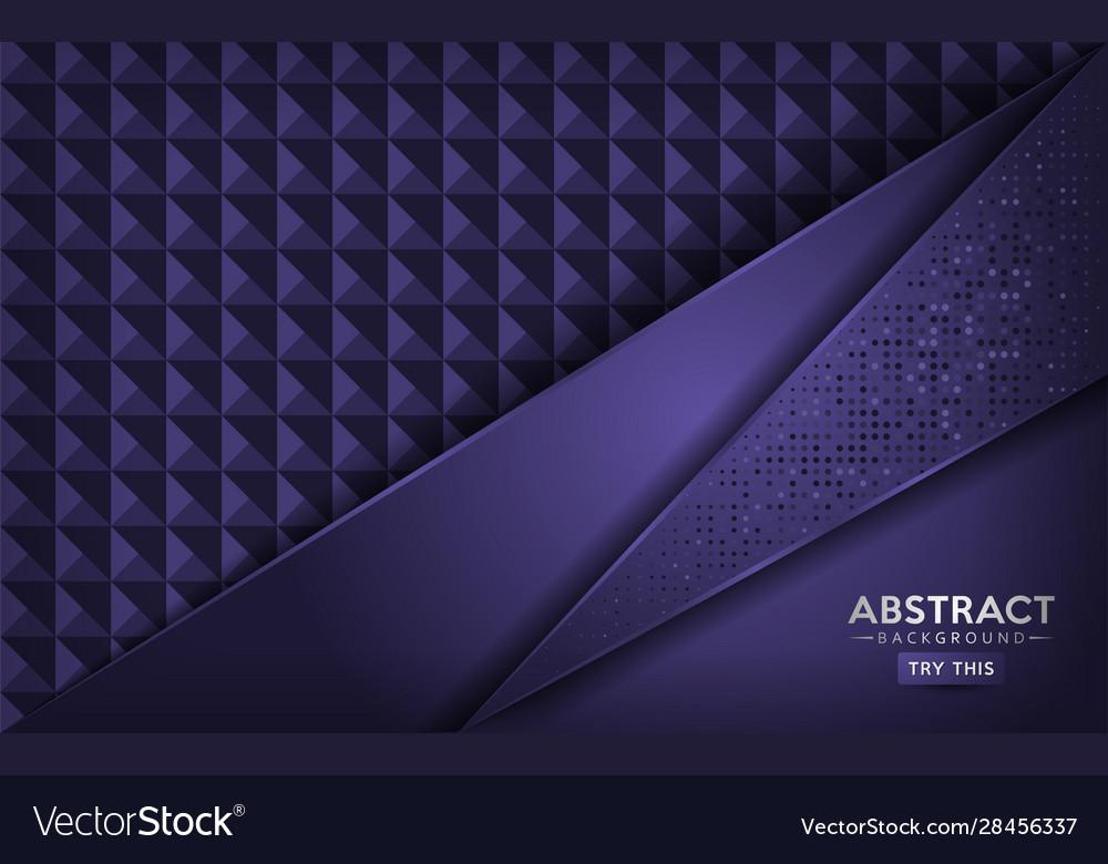 Luxurious abstract dark purple background design