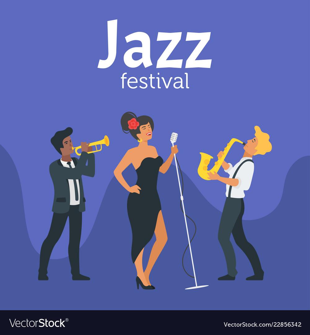 Jazz poster backgroun