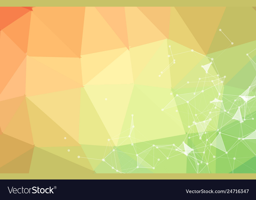 Abstract triangular futuristic background with