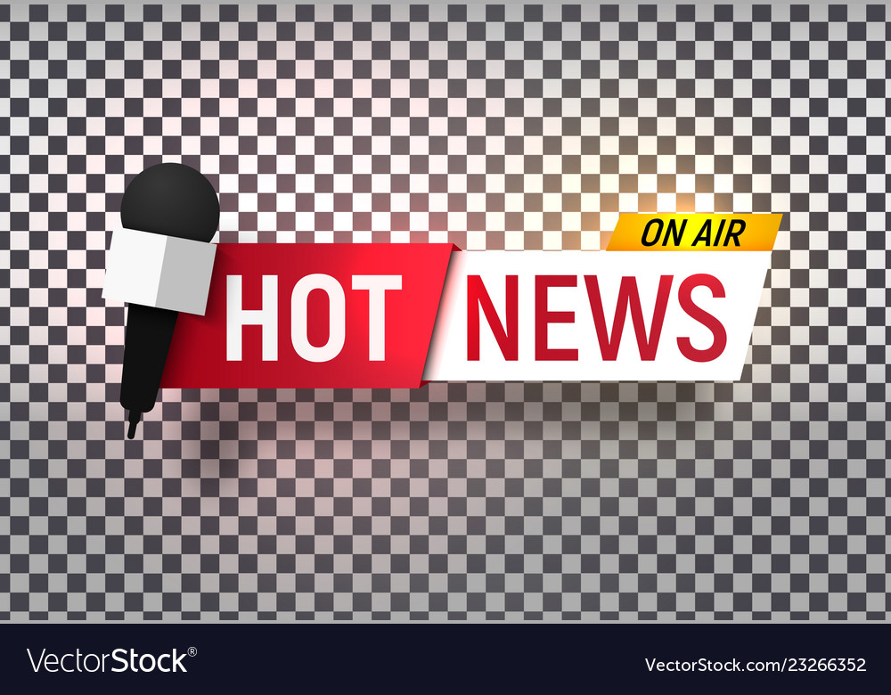 Isolated heading of hot news template title bar