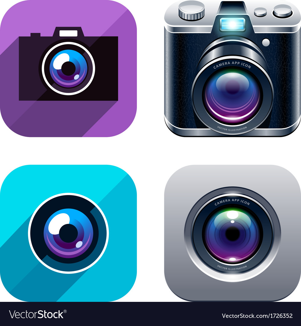Photo Icons Set