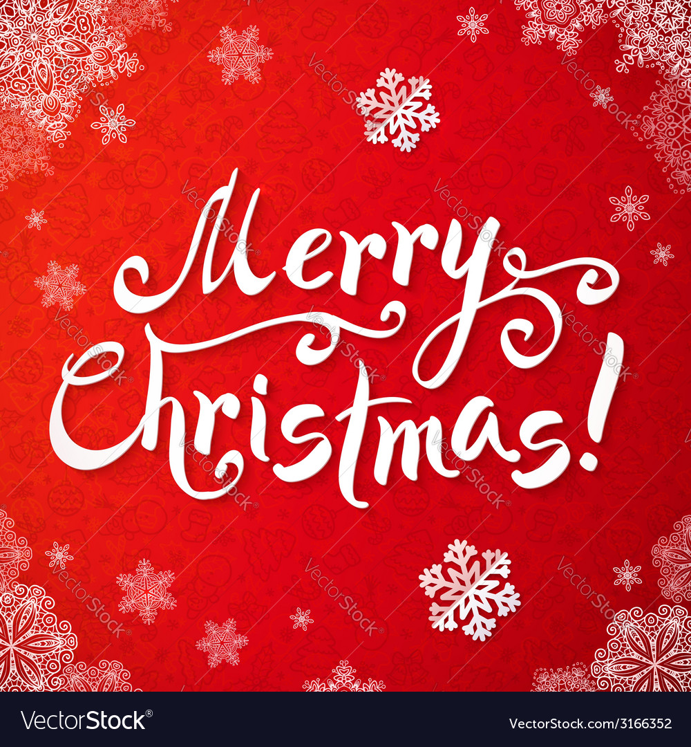 Merry Christmas Writing Images.White Merry Christmas Hand Writing Lettering On