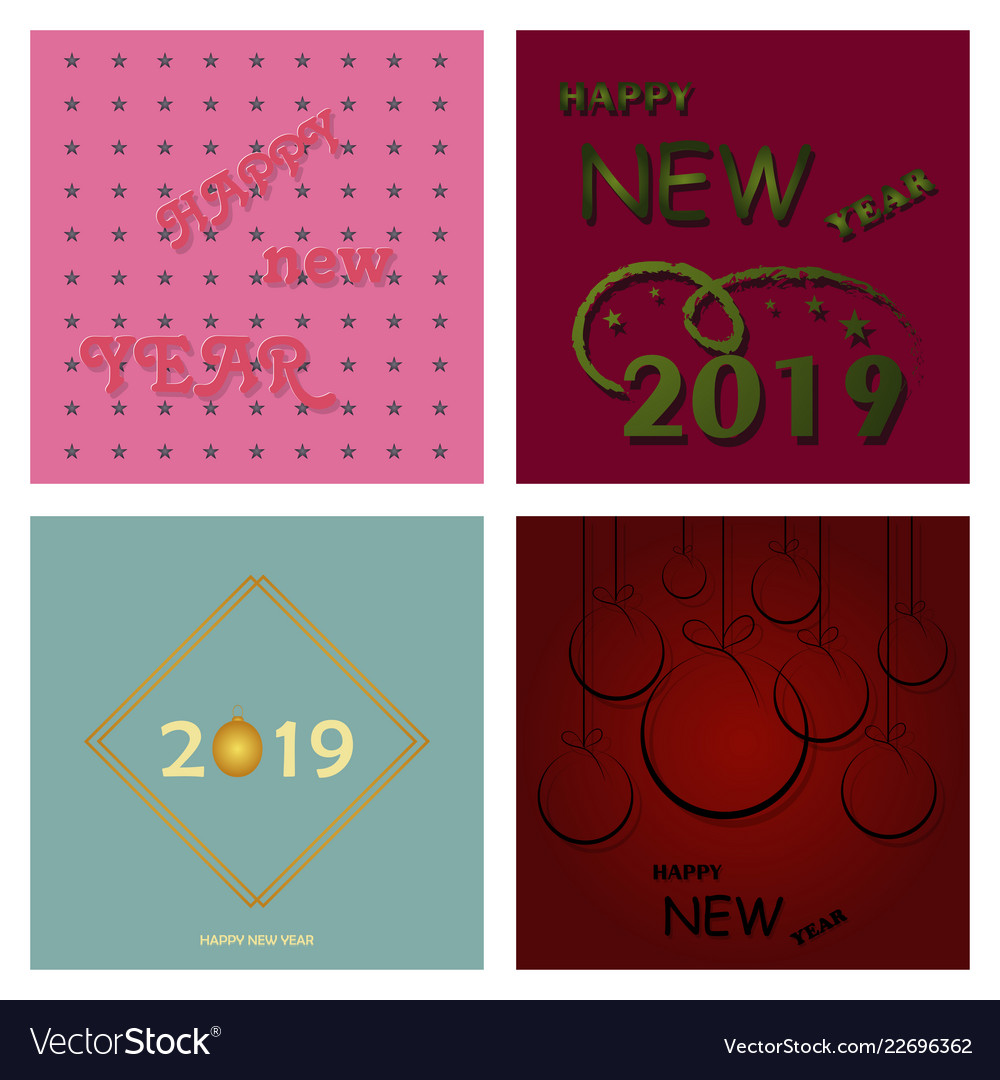 2019 happy new year and marry christmas