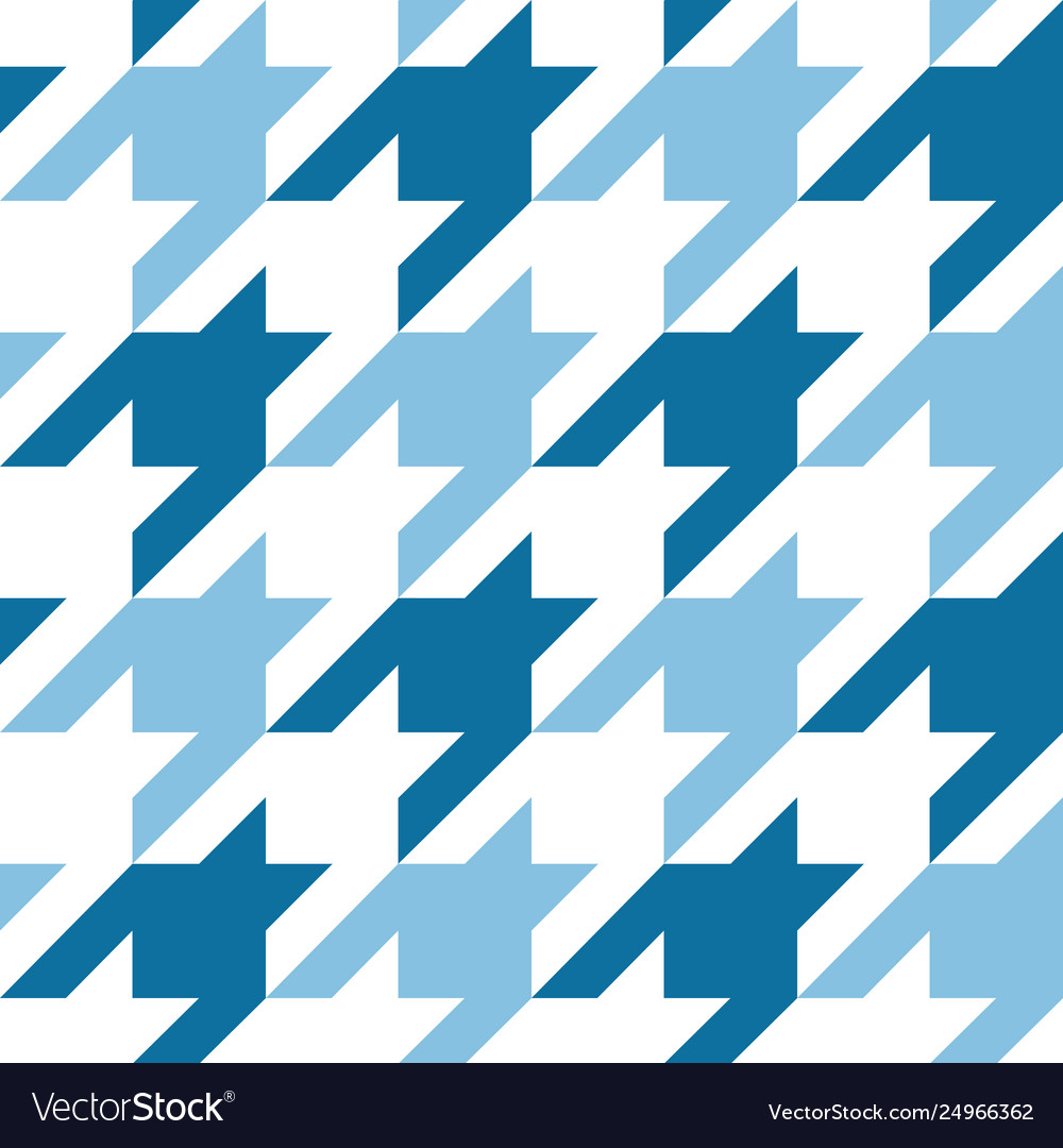 Houndstooth seamless pattern repeat