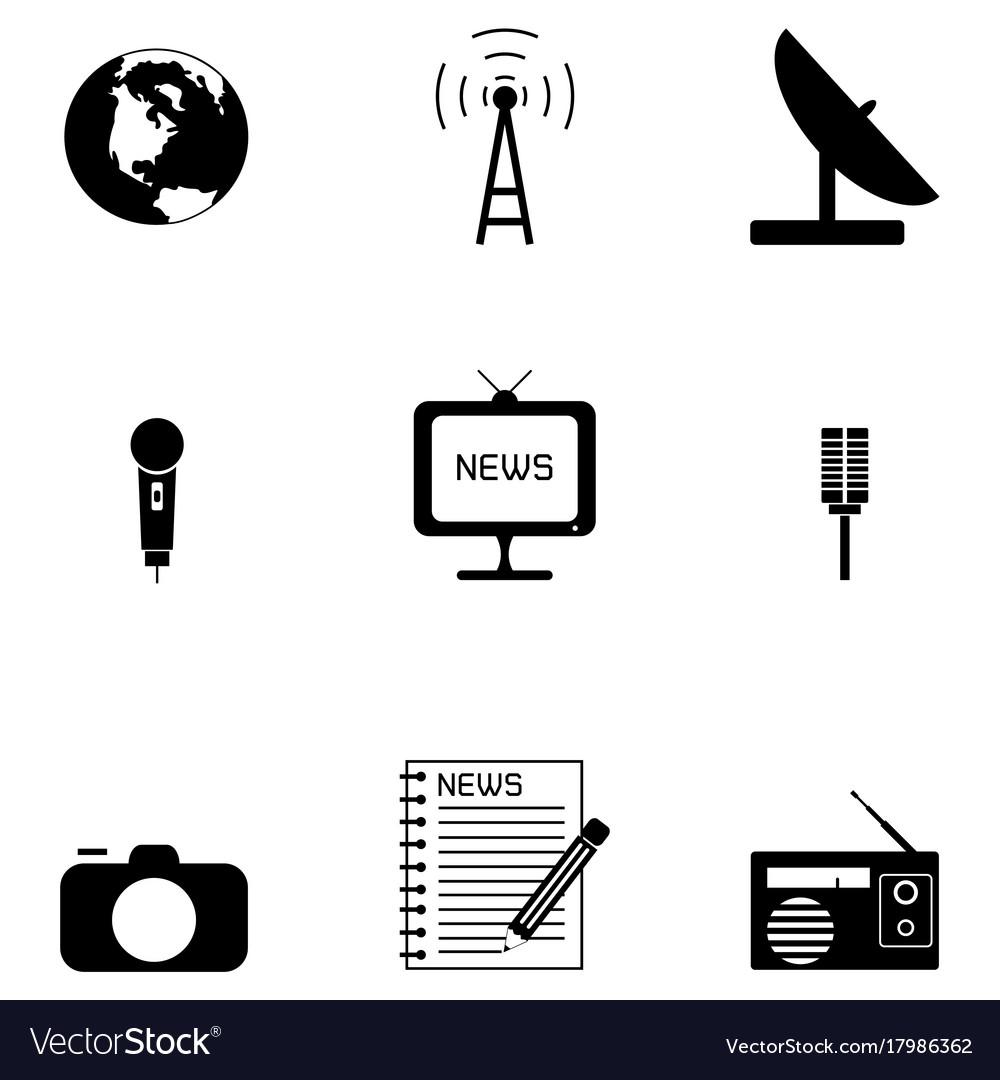 News icon set