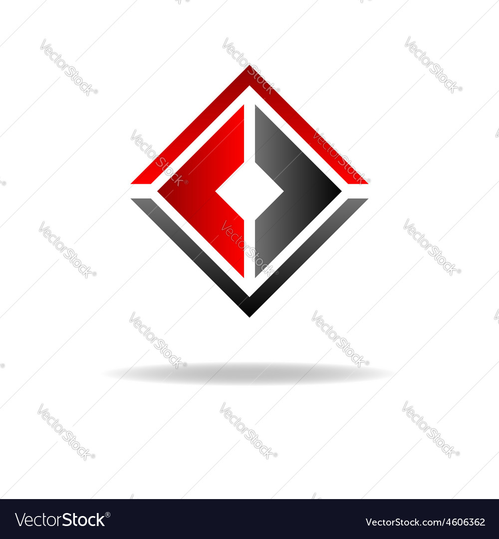 Two C Letter Logo Geometric Shape Royalty Free Vector
