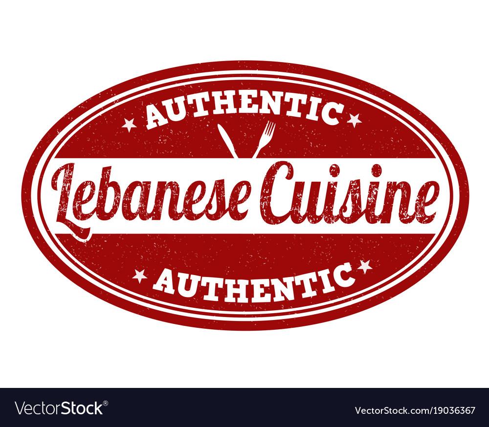 Korean cuisine stamp vector image on VectorStock