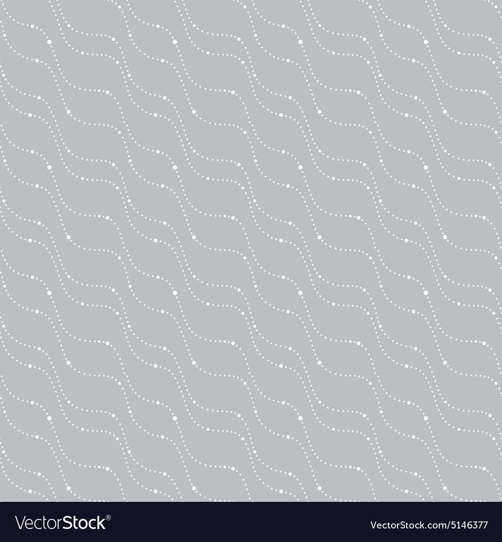 Seamless pattern on a gray background