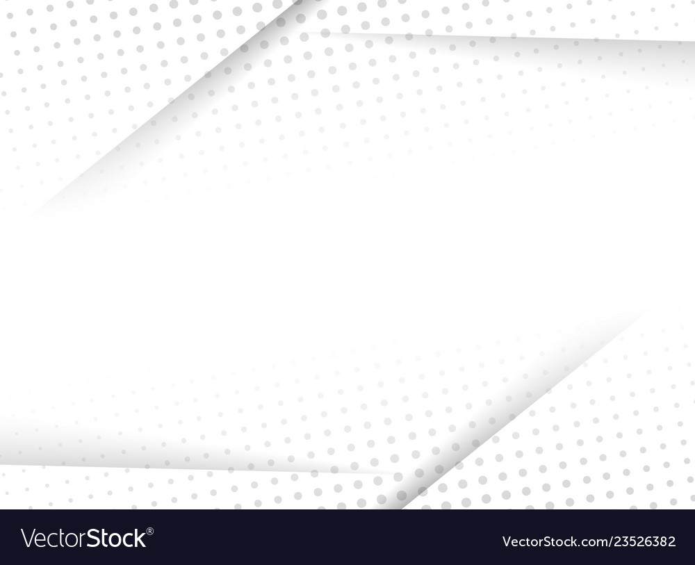 Abstract design halftone white and grey background