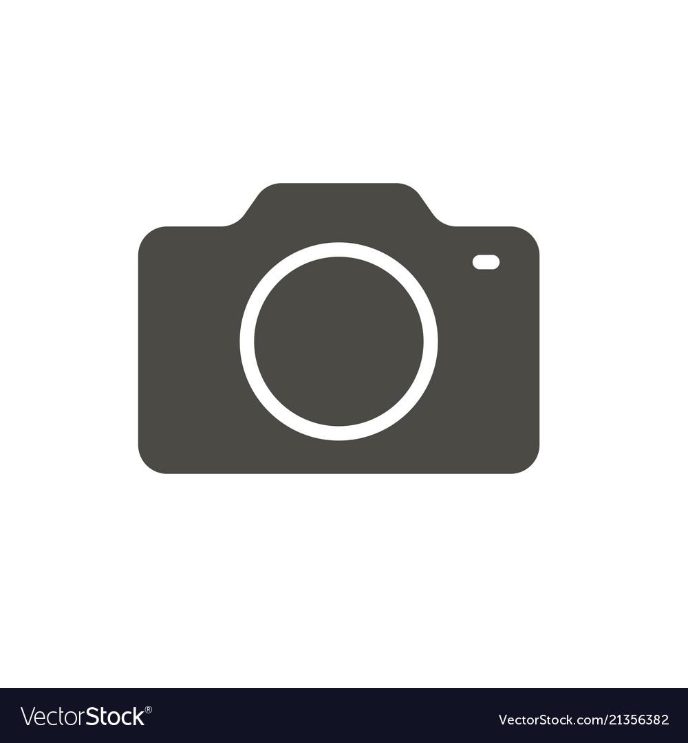 Camera icon photo symbol trendy flat imag