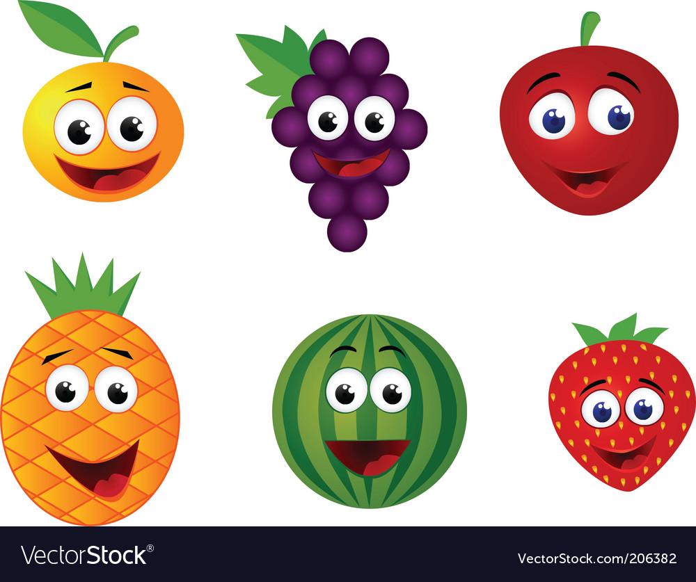 fruits cartoon royalty free vector image vectorstock border clipart free plants border clip art free iris