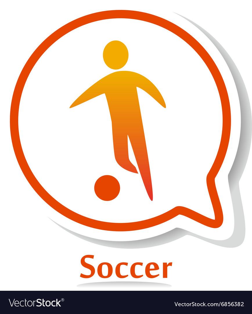 SoccerB vector image