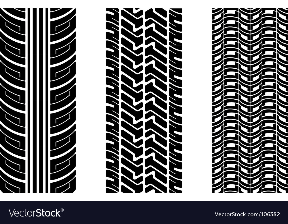 Tire tread Royalty Free Vector Image - VectorStock
