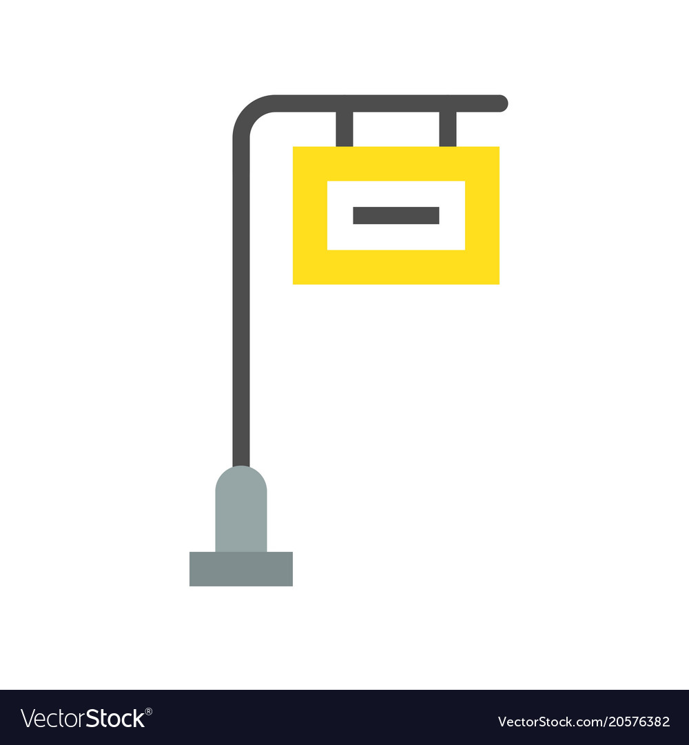 wayfinding traffic sign post icon royalty free vector image