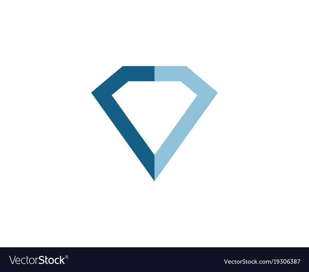 colourbox stone stock with logo diamond design vector shape