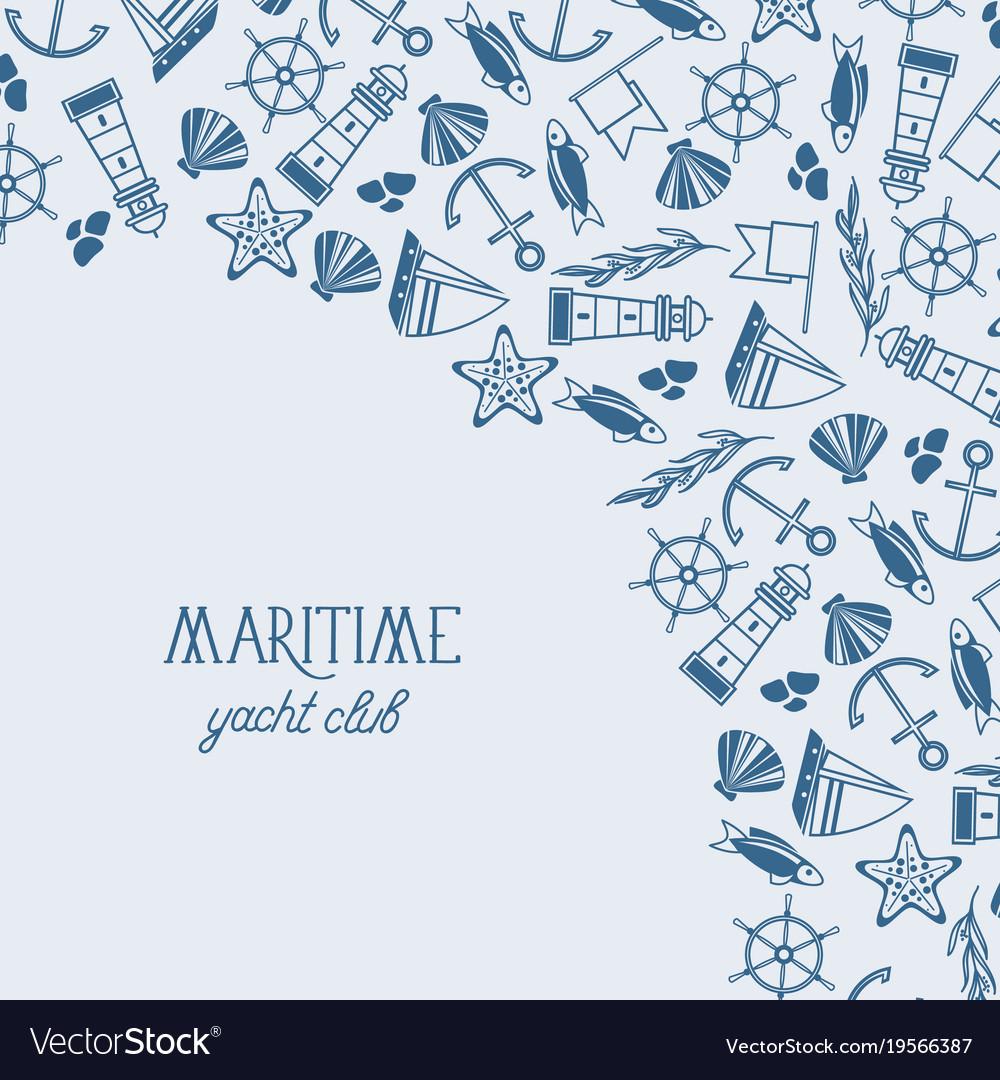 Marine design template