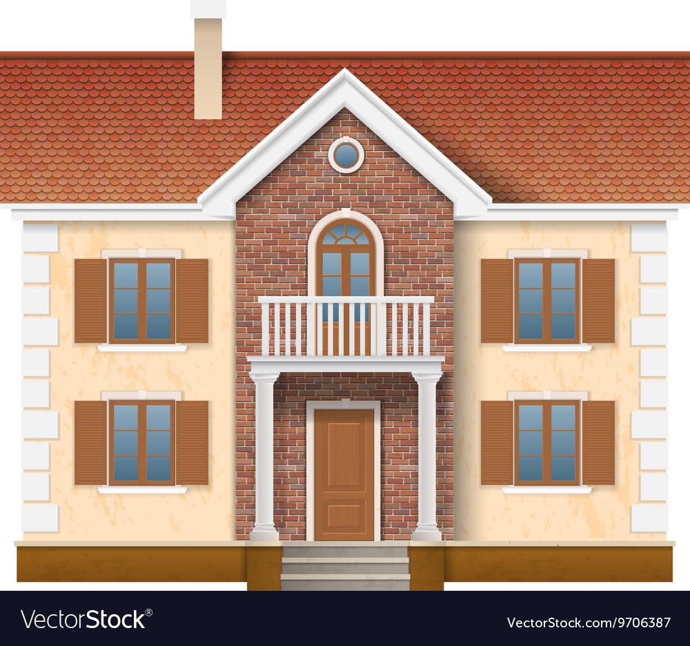 Two story residential house