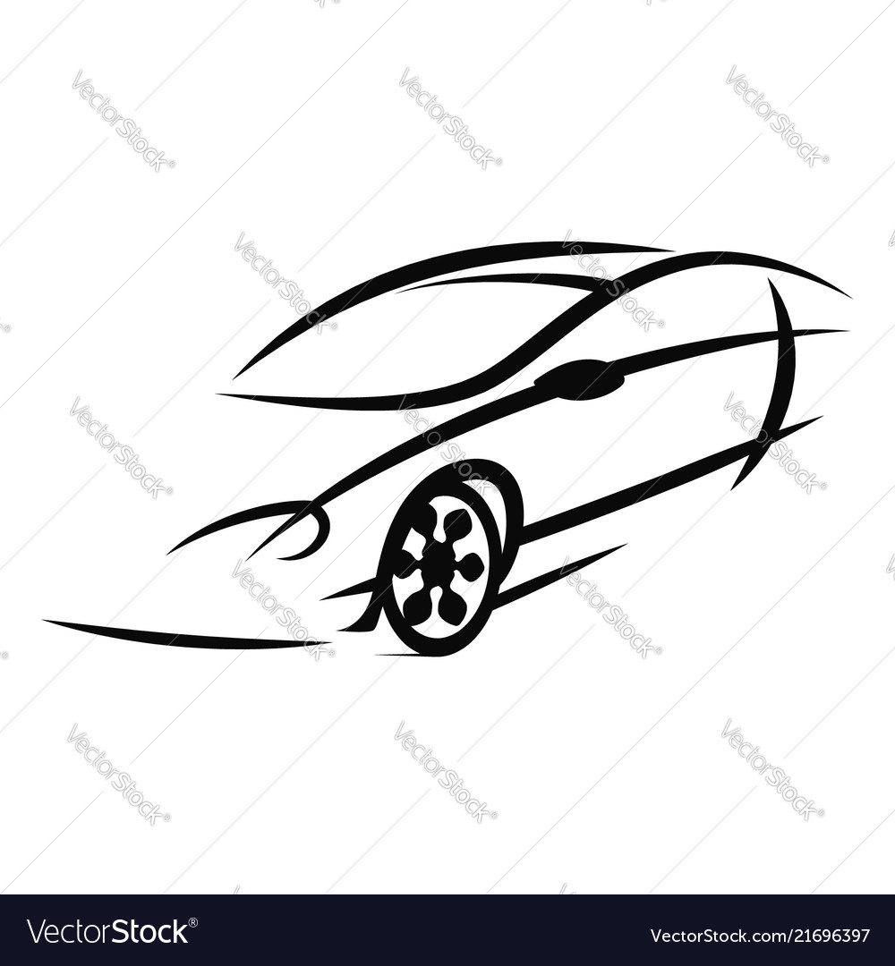 Car silhouetteeps