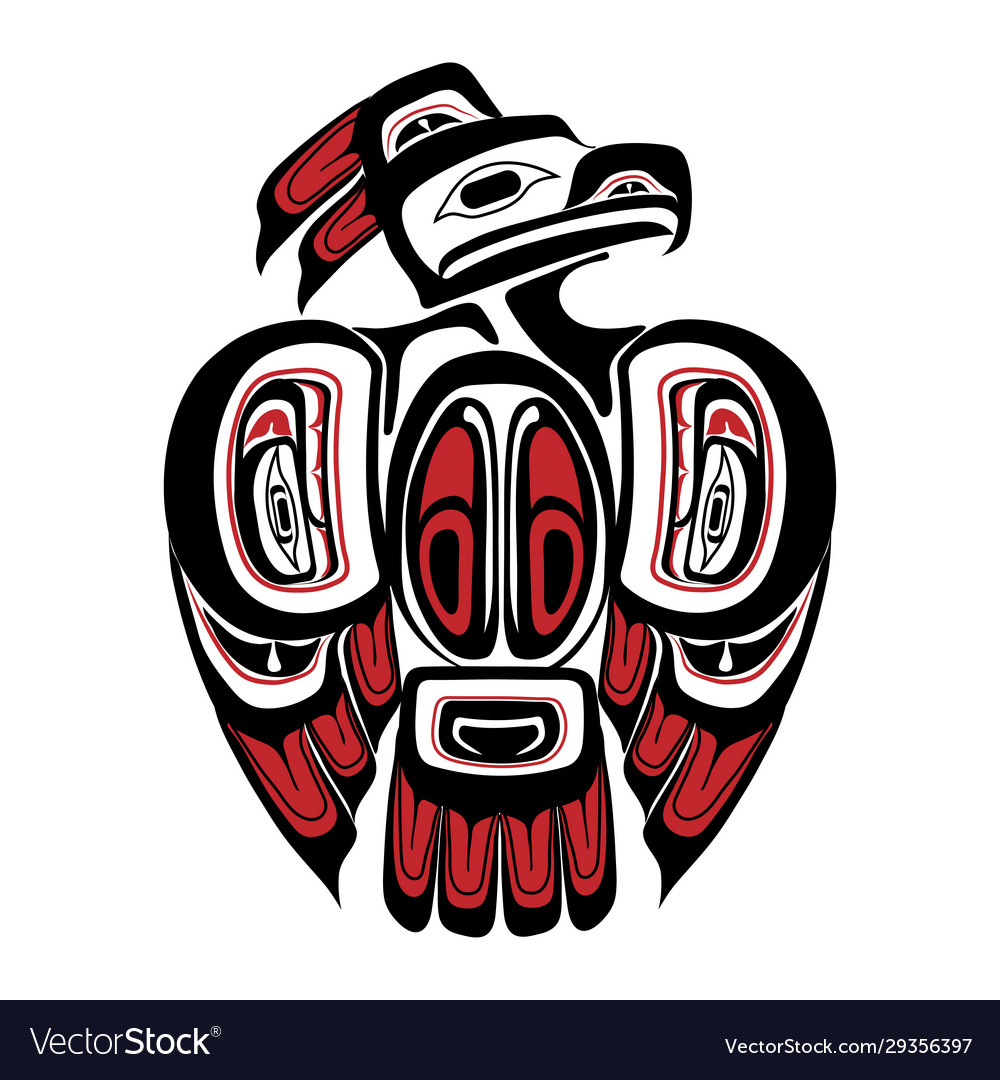 Haida thunderbird tattoo