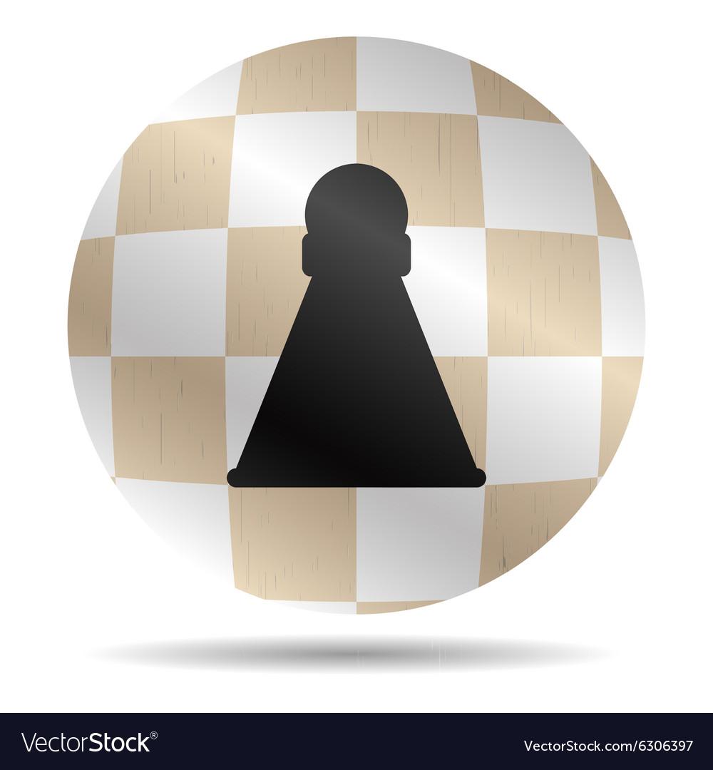 Icon chess pawn