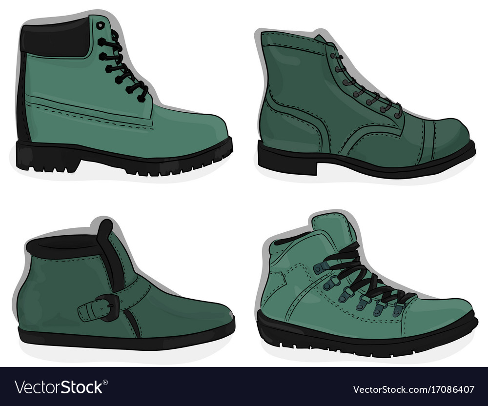 A set of shoes casual light gren-gray and dark