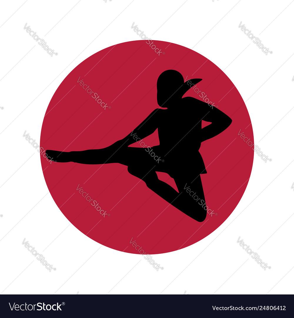Ninja logo minimalism
