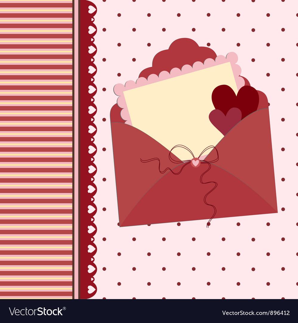 Wedding Greetings Card Royalty Free Vector Image
