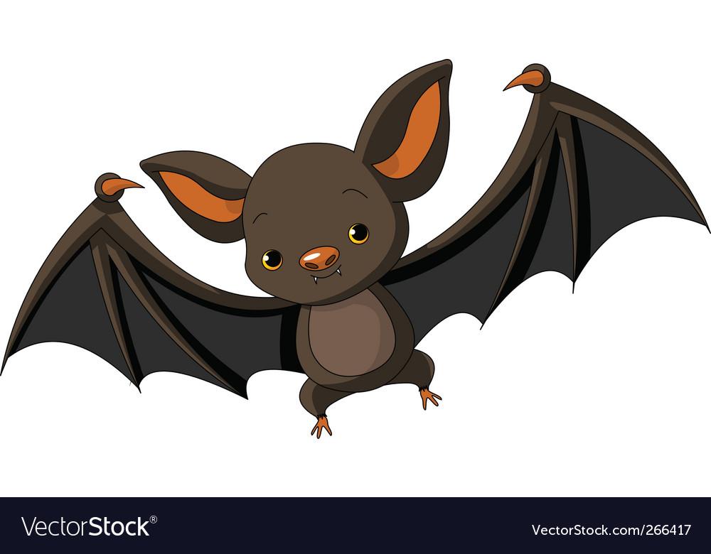halloween bat flying vector image - Halloween Bat Pics