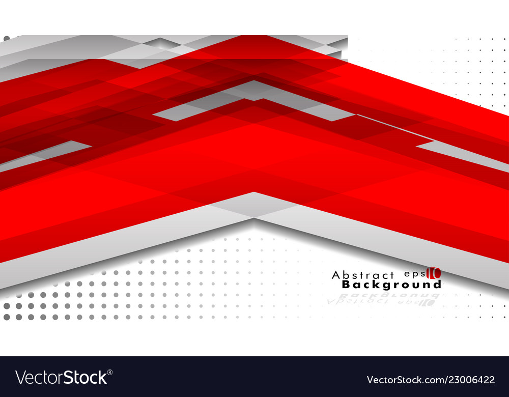 Bright abstract background template red with a
