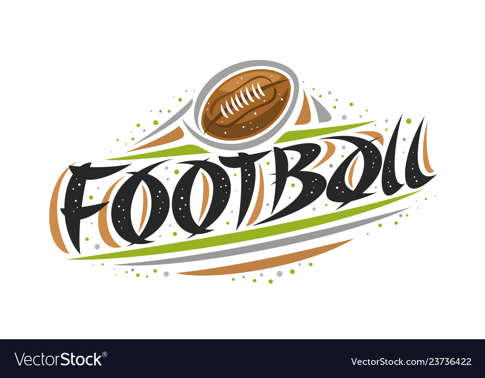 Logo for american football