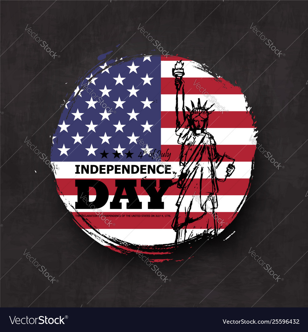 4th july independence day usa grunge