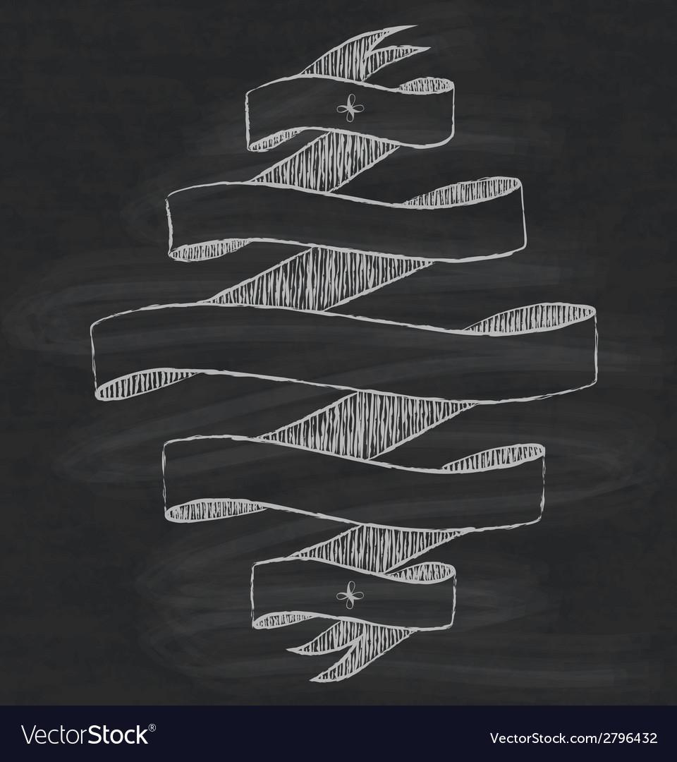 Chalkboard design element