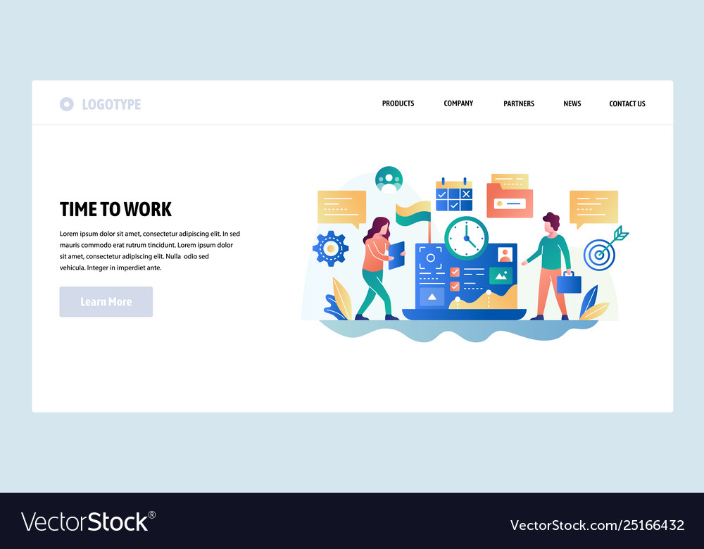 Web site design template business