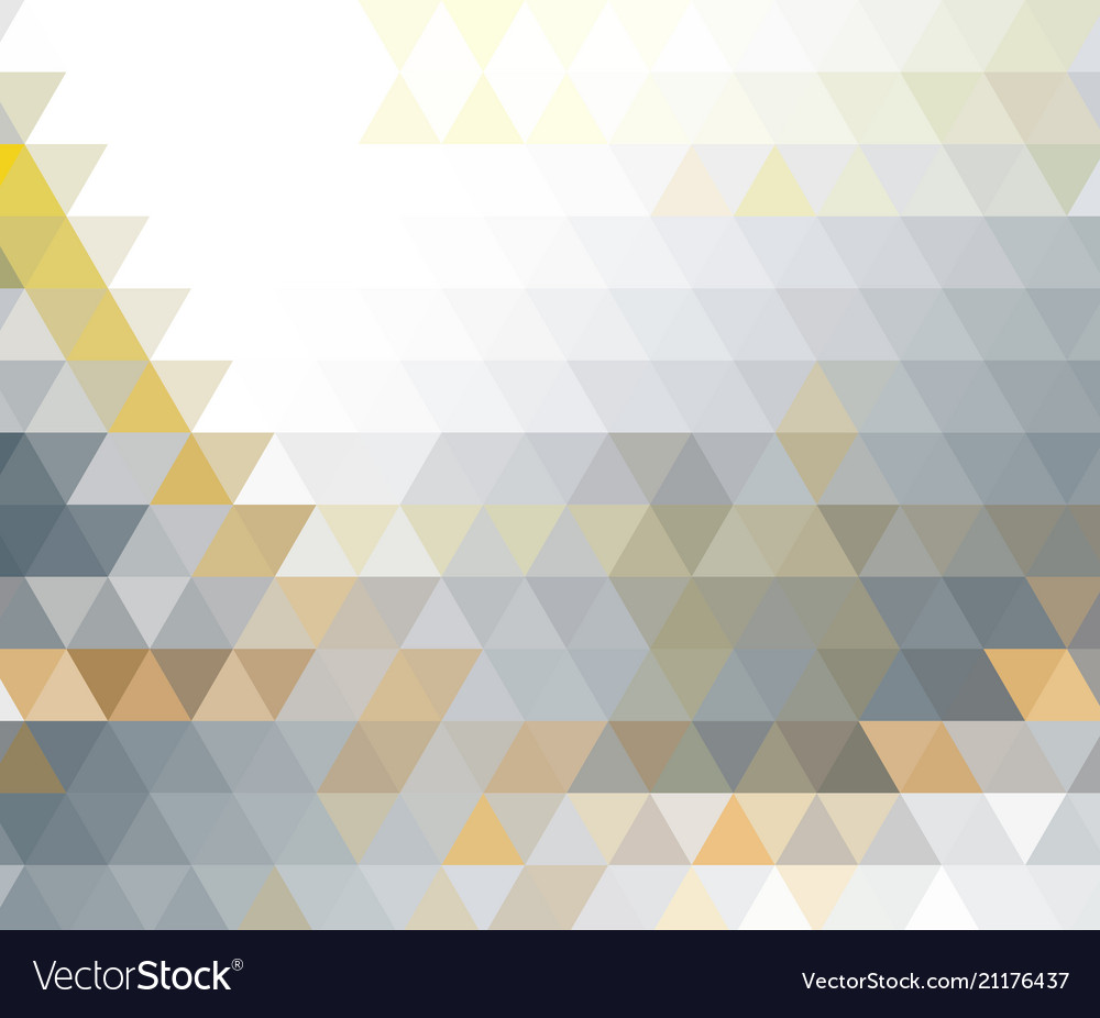 Abstract retro pattern of geometric shapes