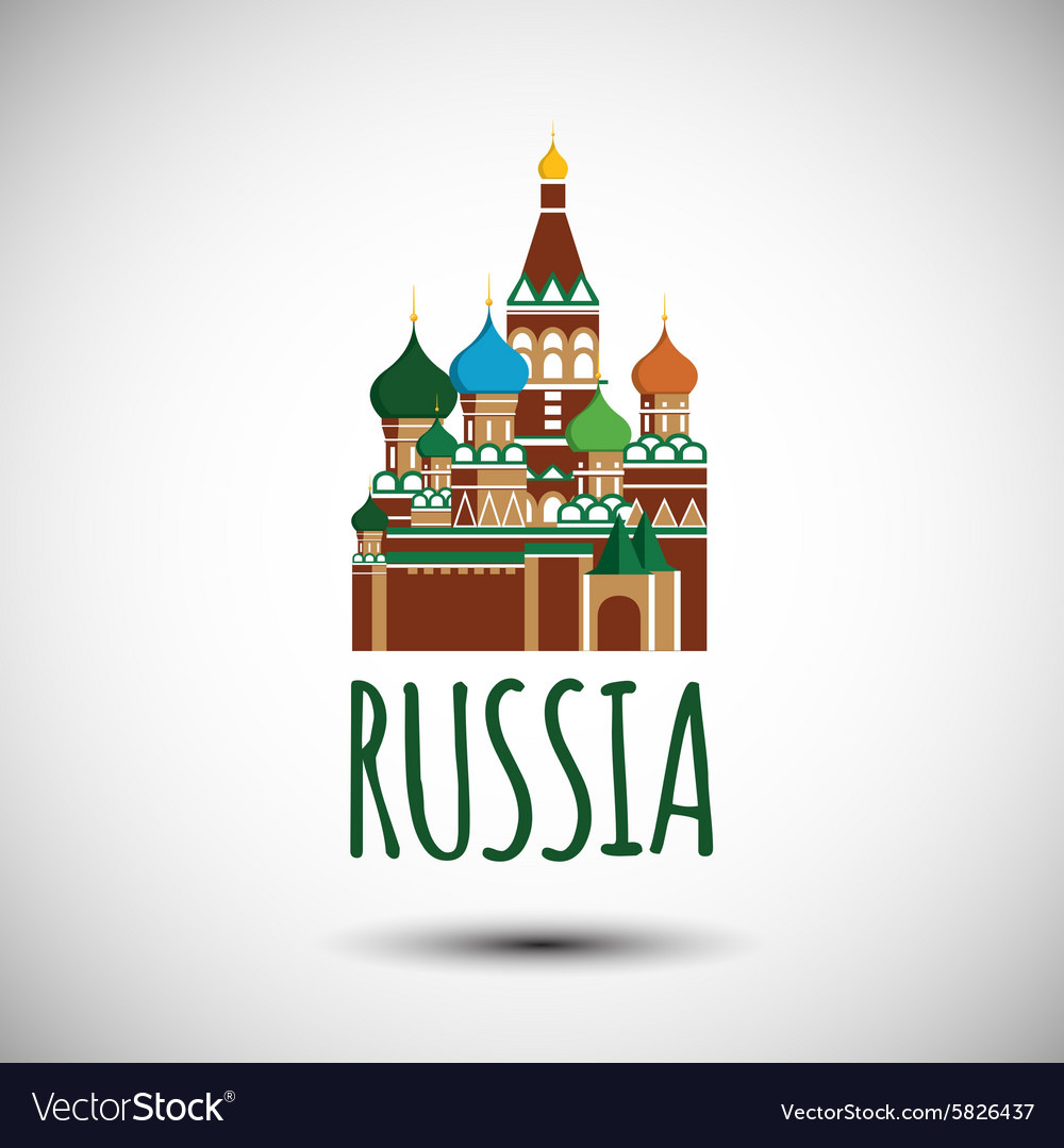 Saint Basil cathedral Russia Moscow