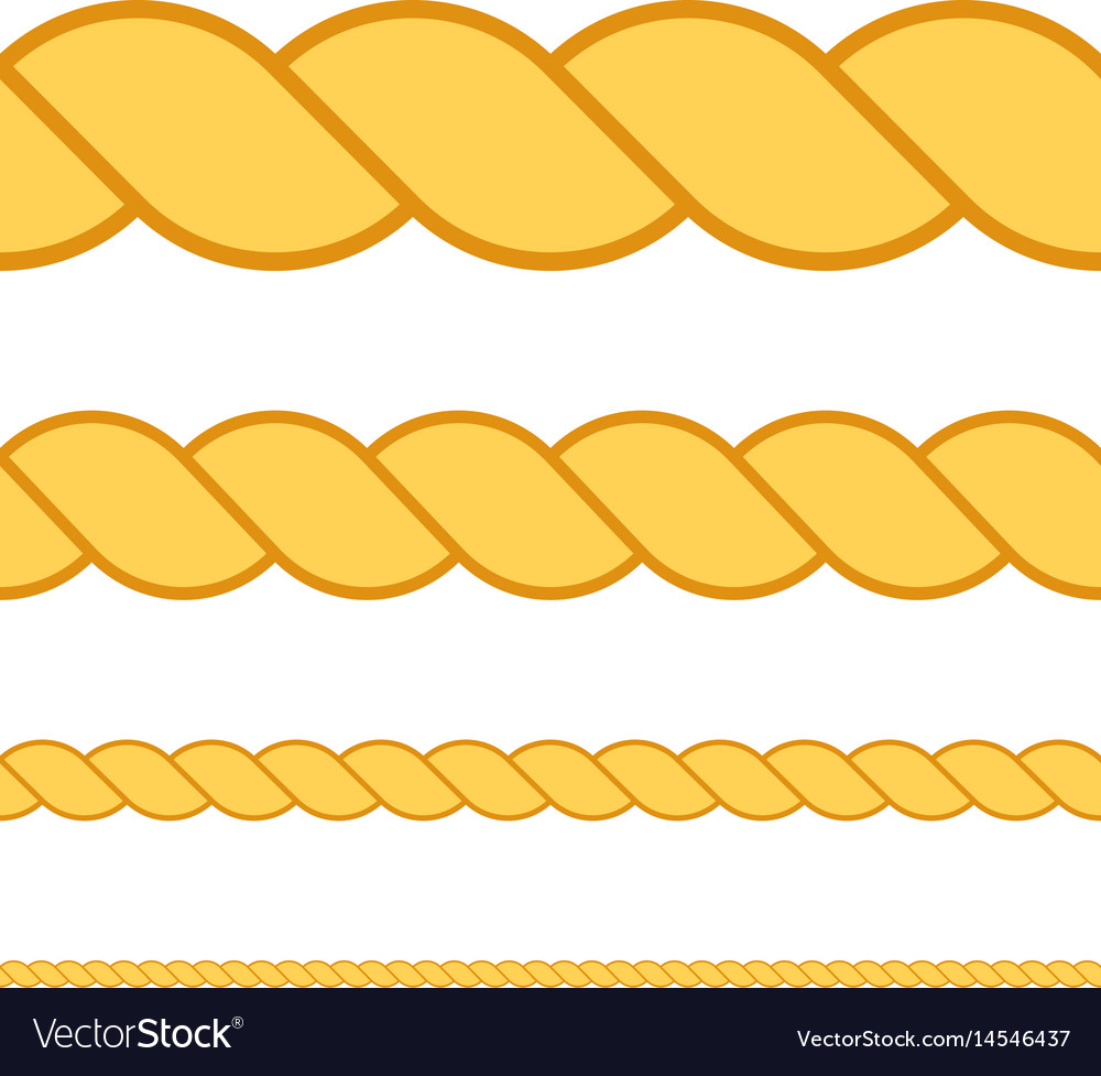 Seamless rope macro thread texture