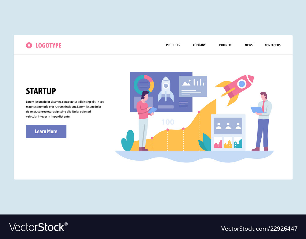 Web site gradient design template business